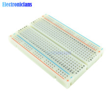 DIY 400 Points Solderless Bread Board Breadboard 400 PCB Test Board For ATMEGA PIC For Arduino UNO