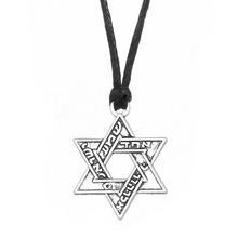 Dawapara Star Of David Ethnic Hebrew Jewish Jewelry Religious Necklace Mens Womens Accessories