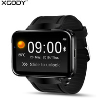 XGODY DM98 Smart Watch Android With SIM Card Pedometer Fitness Tracker Wrist Watch Cell Phone Wifi BT 4.0 GPS Smartwatch for Men(China)