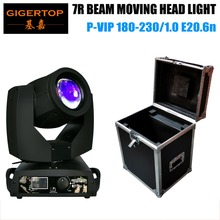 TP-7R Original Moving Head Beam Light OS-RAM Bulb High Brightness Brand Cooling System Classical Screen 16 CH Flightcase Packing