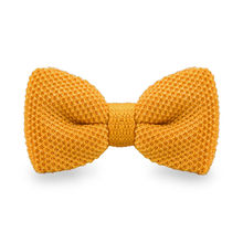 LF-307 Fashion New Arrival Knitted Crochet Men`s Bowties Adjustable Orange Solid Neckwear For Party Bussiness Free Shopping