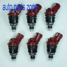 MH Electronic 6pcs/Lot Fuel Injector For Nissan 92-99 Maxima  Infiniti I30 96-99 3.0L 16600-96E01 1660096E01 A46-00 A4600 New