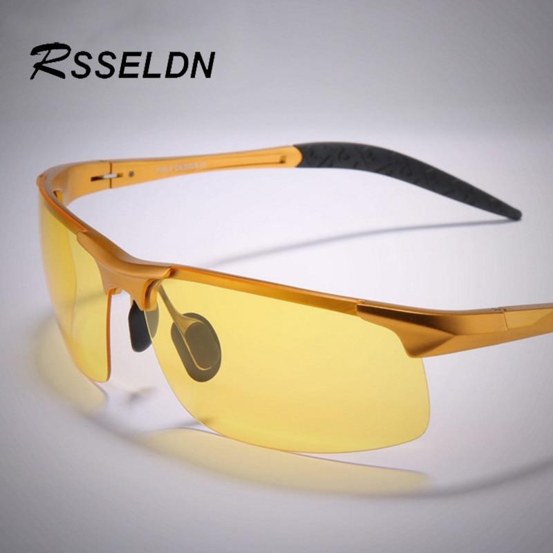 RSSELDN NEW Brands Aluminum And Magnesium Polarized Sunglasses Men HD Night Vision Glasses Driver Fashion polarized Sunglasses<br><br>Aliexpress