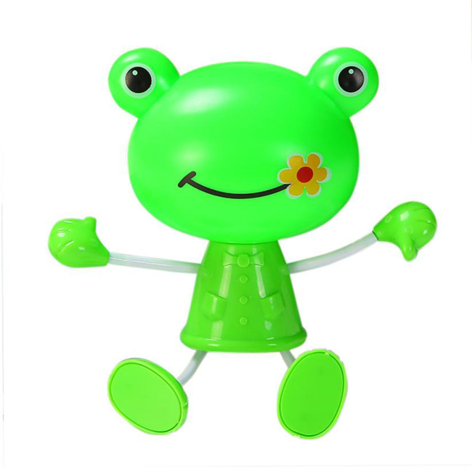 MUQGEW Photoreceptor Nightlight US Plug Cute Frog LED Decoration Sensor Control Night Light Lovely Decoration with Practical(China)