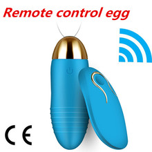 Waterproof 10 speeds Wireless vibrator for woman USB Rechargeable Vibrators massager vagina sex Vibrating Egg Sex Toy For Women(China)