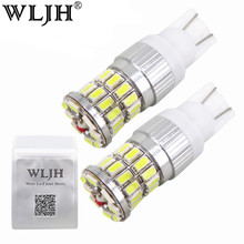 WLJH 2x 7.5W W5W Led T10 LED Car Styling Front Side Maker Parking Light Bulb Clearance Lamp For Ford Focus 2 /for Focus 3 Fiesta