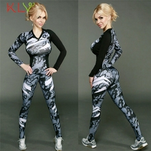 KLV FishSunDay Women Tracksuit Print Sweatshirt Sets Sport Wear Suit Blouse+ Pants  Levert Dropship Mar03
