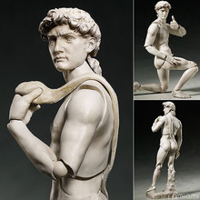 "6"" The Table Museum: Davide di Michelangelo Boxed 14cm PVC Action Figure Collection Model Doll Toy Figma SP-066"