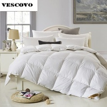 Luxury Edredon funda nordica goose down comforter double velvet feather for livingroom and bedroom
