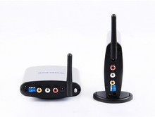 Free shipping 150 meters wireless AV transceiver Tx Rx 2.4ghz wireless audio video transmitter receiver