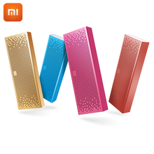 Newest Original Xiaomi Bluetooth Speaker Wireless Stereo Mini Portable MP3 Player Hands-free Support SD card For IPhone Xiaomi(China)