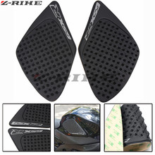 new arrival Motorcycle Accessories Carbon Fiber Tank Pad tank Protector Sticker for SUZUKI GSXR1000 GSXR 1000 07 08 2007 2008(China)