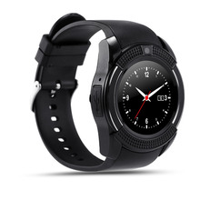 V8 Smart Watch Clock With Sim TF Card Slot Bluetooth Connectivity Smartwatch Watch For MiNi Camera Waterproof Android Phone 6s