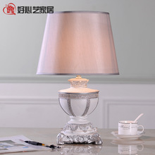 TUDA modern Chinese luxury decoration of Chinese style bedroom bedlamp resin table lamp creative study the living room lamp