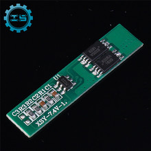 2pcs 7.4V 2S Polymer Lithium Battery Protection Board  Short Circuit Protection Charging Module for 2pcs Li ion Battery