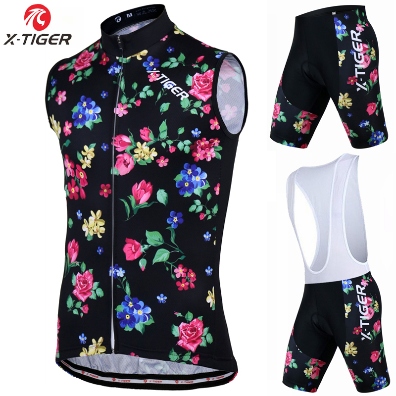 X-Tiger 2017 New Breathable Cycling Vest Summer Sleeveless MTB Bicycle Jersey Clothing Maillot Ciclismo Sportwear Bike Clothes<br>