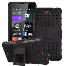 Tire Style Tough Rugged Dual Layer Kick Stand Duty Armor Case for Nokia 430 532 635 N635 630 N630 640 N640 640XL Duty Armor Case