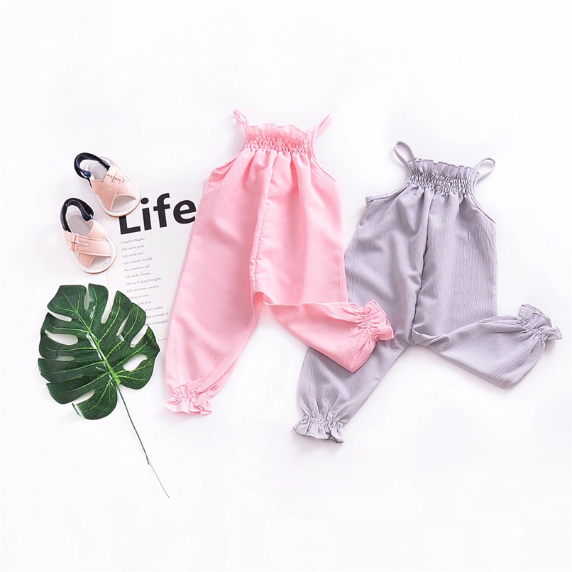 Toddler Kids Baby Girls Strap Romper Jumpsuit Harem Trousers Summer Clothes NDA84L09 (13)