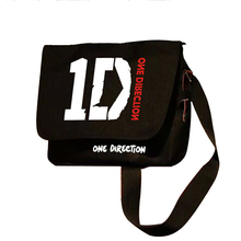 One Direction Peripheral 1D Single Shoulder Bag Messenger Satchel One-Way Band Travel Business Shopping Bags Aslant Crossbag(China)
