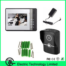 Wired 7 inch color hands-free intercom system 802FG11 one to one video doorphone intercom door bell with CMOS Camera