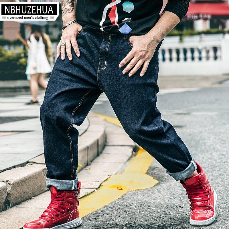BIG GUY 2XL-6XL Baggy Large Size Men Jeans 2017 New Fashion Straight Male Denim Pants 1460 PZ4Îäåæäà è àêñåññóàðû<br><br>