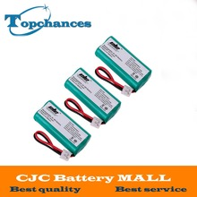 3X High Quality 2*AAA Ni-MH 800mAh 2.4V Rechargeable Cordless Home Phone Battery for Uniden BT-1011 BT1011 BT-101 BT1018