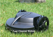 Free Shipping To Europe)Automatic Robot Lawn Mower+Remote Controller+lead acid battery+Rain Sensor,CE&ROHS