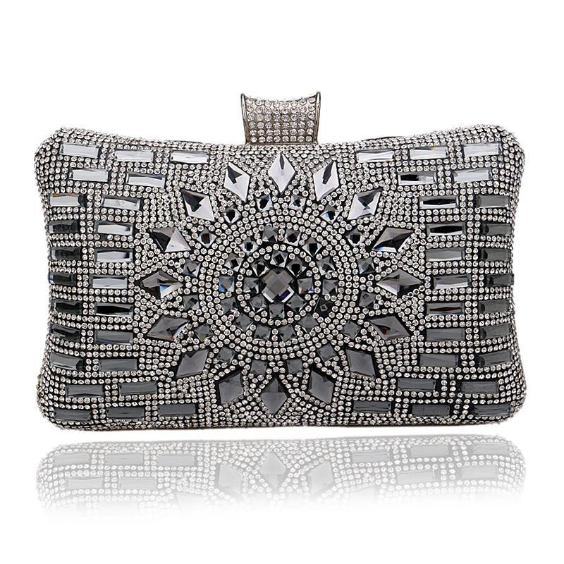 NEW Acrylic Women Handbags Diamonds Clutch Evening Bags Messenger Shoulder Bags For Wedding/Party/Dinner<br><br>Aliexpress