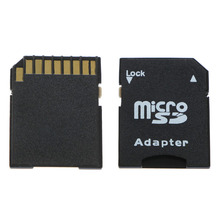 5Pcs/Pack Micro SD TransFlash TF To SD SDHC Memory Card Adapter Converter Black