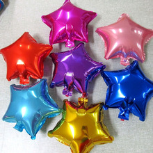 1Pc Foil Balloon Large Helium Star Balloons Wedding Decoration Birthday Party Souvenirs Favors Gold Silver Pink Party Decoration(China)