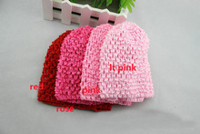 wholesale  Hand Crochet Beanie Hat Europe and United States popular hair cap child hat 30pcs/lot Free Shipping