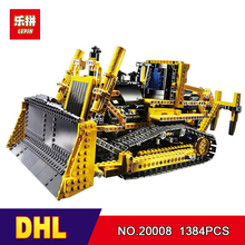 DHL LEPIN 20008 138technic series bulldozer Model Building blocks Bricks kits Compatible 8275 - Mr. Grass Toy Store store
