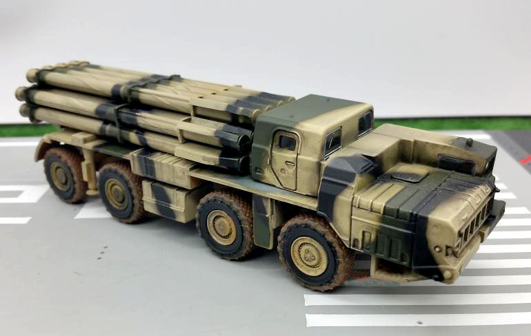 Genuine WARMASTERS 1:72 The Russian BM-80 tornado rocket launch vehicle model TK0062 Rare collection model<br>