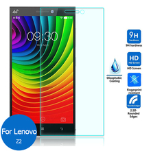 2pcs/lot For Lenovo Vibe Z2 Real 9H 2.5D 0.26mm New Luxury Tempered Glass Screen Protector Film for Lenovo Vibe Z2