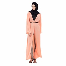 Abaya Dress Muslim Women Long Sleeve Abaya Arab Malay Style Islamic Women Elegant Dress Clothing Robe(China)