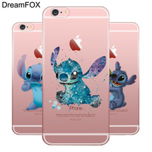 L062 Lilo And Stitch Soft TPU Silicone Case Cover For Apple iPhone X 8 7 6 6S Plus 5 5S SE 5C 4 4S(China)