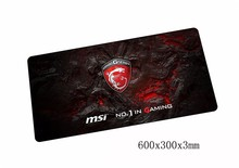 game MSI mousepad best 60x30cm gaming mouse pad gamer mouse mat High quality pad keyboard computer padmouse laptop play mats(China)