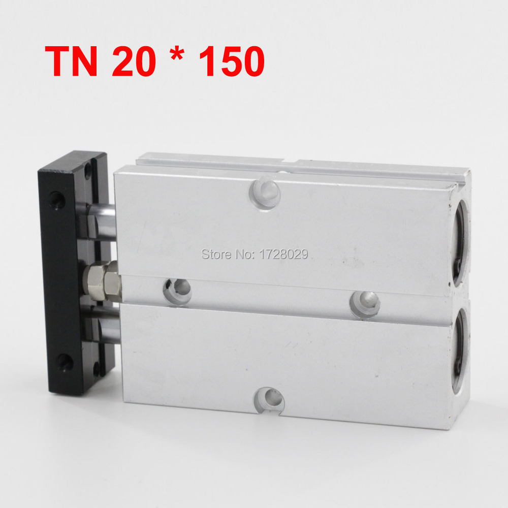 Dual Action Cylinder TN Type 20-150 With Magnet Pneumatic Air Cylinder<br><br>Aliexpress