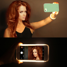 LED Light up Glowing Phone Case Cover for iPhone 5 SE 6 6S 7 8 Plus Selfie Luminous Cases For Samsung S6 S7 Edge Plus Covers(China)
