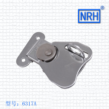 NRH 6317A cold-rolled steel Rotary butterfly draw latch Factory direct sale high quality wing lock for flight case road case
