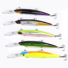 1pcs 15cm 12g Deep Water Minnow Hard Lure For Sea Carp Fly Fishing Spinner Bait Accessories Hooks Tool Wobblers Fish Sport lures