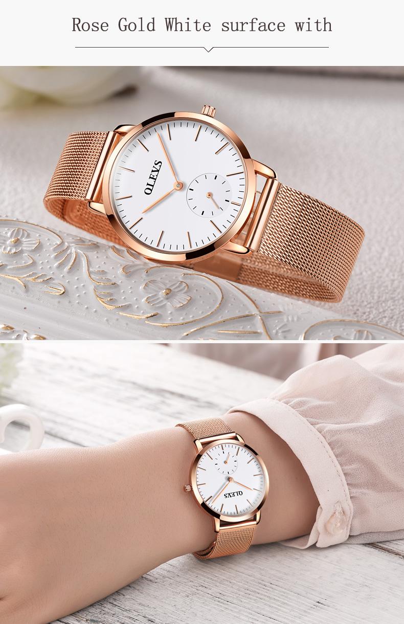 HTB1M2OMSpXXXXblXXXXq6xXFXXX5 - OLEVS Luxury Watches Women's Rose Gold Casual Quartz Watch Stainless Steel Watch Water Resistant Clock relojes hombre 2017 saat