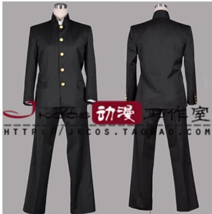 Anime Hotaro Oreki Nara Shikamaru Ninja cosplay costume kotenbu high school hinata syouyou attack on titan uniform set
