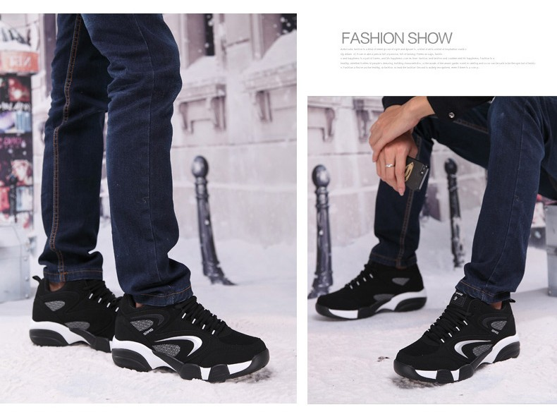 16 Winter Shoes Mens Running Shoes Outdoor Women Sport Shoe blue Keep Warm Winter Sneakers Running Shoes Free SIZE UE36-45 7