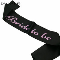 Chicinlife 1PCS Bride To be /Maid of honour /Gay Best Friend Sash Bachelorette Party Supplies Wedding Party Decoration Gift