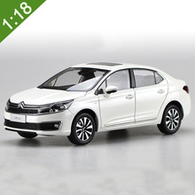 Brand New 1/18 C4L CITROEN Fusion Diecast Model Car Alloy For Baby Gifts Toys Collection Original Box Free Shipping(China)
