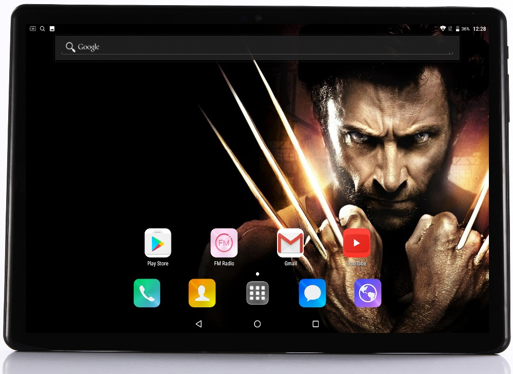 2019 New Google Play Android 8.0 10 inch tablet Octa Core 4GB RAM 64GB ROM 1280*800 IPS 2.5D Glass Kids 3G 4G LTE Tablets 10.1(China)