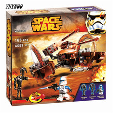 YNYNOO Bela 10370 Star Wars Attack of the Clones Hailfire Droid Exclusive Building Blocks Model Bricks Friend Toys Lepin(China)