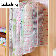 Storage Bag Case for Clothes Organizador Garment Suit Coat Dust Cover Protector Wardrobe Storage Bag for Clothes Organizador(China)