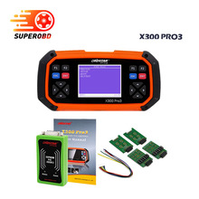 2017 OBDSTAR X300 PRO3 Key Master OBDII X300 Key Programmer Odometer Correction Tool EEPROM/PIC Update Online better than SKP900